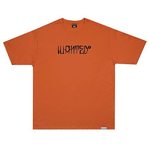 Camiseta Wanted - Keepin It Real Laranja Cor:Laranja;Tamanho:XG