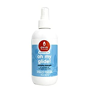 Oyin Handmade Oh My Glide! Prestyling Detangler with Avocado Oil and Organic Aloe Vera| Hair Detangling Spray| 8oz