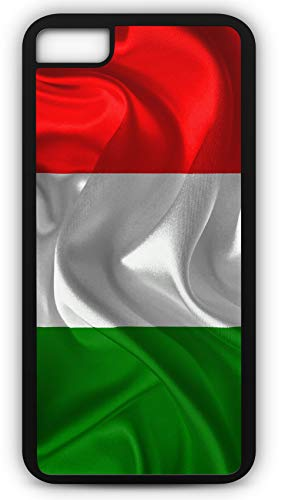 iPhone 6 Plus 6+ Case Italy Flag National Italian Rome Sicily Boot Country Customizable by TYD Designs in Black ()