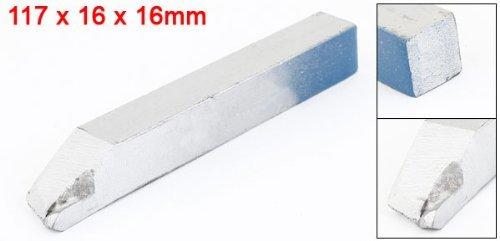 DealMux Lathe 16mmx16mm corte torneamento externo Ferramenta tom de prata 117 milímetros longo: Amazon.com: Industrial & Scientific