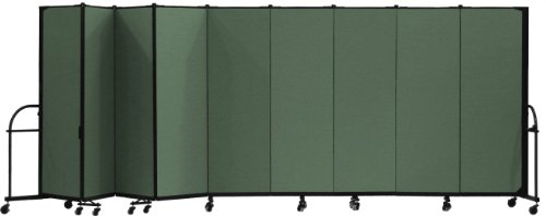 Screenflex Hfsl609 Dn Heavy Duty Portable Room Divider 9 Panels
