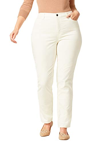 Talbots High-Rise Velveteen Straight-Leg Pants - Plus Size Petite 16 ()