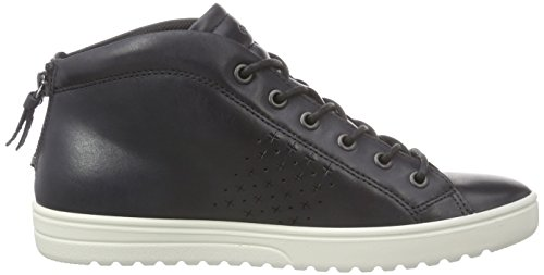 Damen 3 Sneakers Ecco 35 Fara Eu black02001 Schwarz qa5UP0w5