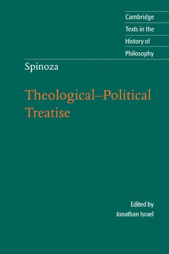 Spinoza: Theological-Political Treatise (Cambridge Texts in the History of - Stores Silverthorne