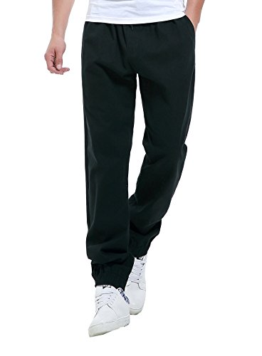 Honour Fashion Men's Casusal Urban Cotton Drawstring Sweat Track Pants