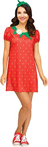 Strawberry Costume Women (Fun World Women's Small/Medium Cute Strawberry)