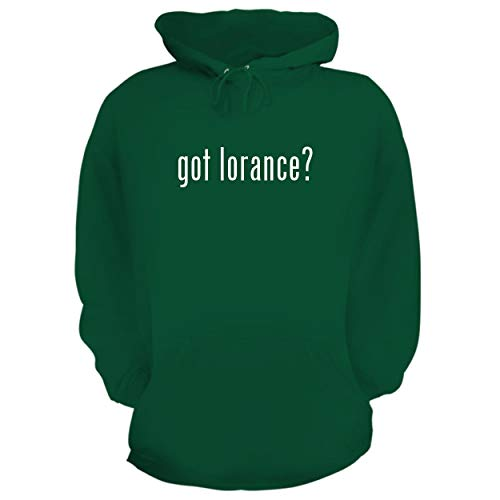 BH Cool Designs got Lorance? - Graphic Hoodie Sweatshirt, Green, Small ()