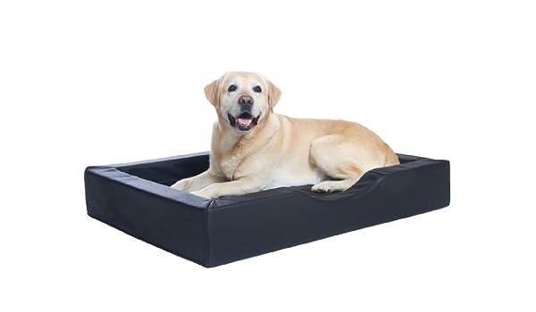 DoggyBed & CatBed Perros Cesta Negro, Sana Comodidad Cama de Lujo Perros visco Espuma En 3 Tamaños: Amazon.es: Productos para mascotas