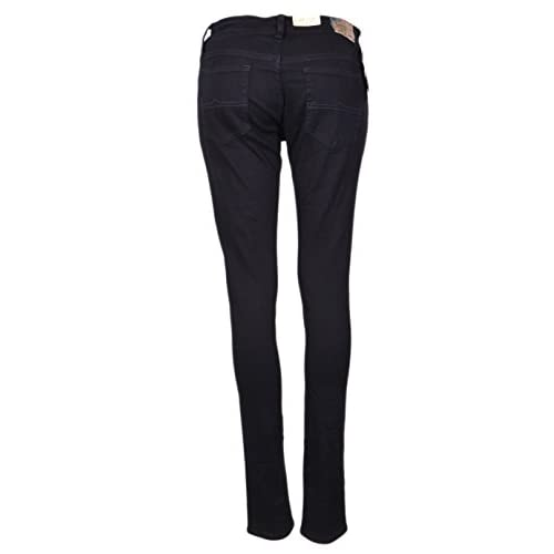 Womens black low rise skinny jeans