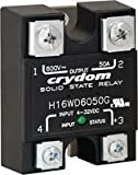 Solid State Relay, 75 A, 660 VAC, Panel, Screw, Random Turn On