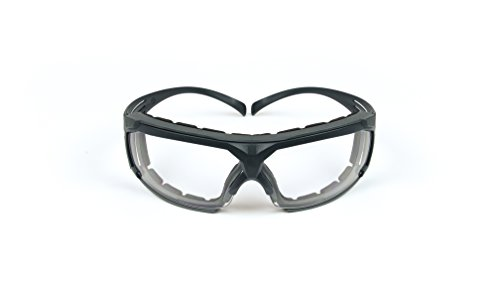 Lens Plastic Gray (3M SecureFit 27340 Protective Eyewear SF601SGAF-FM Foam, Scotchgard Anti-Fog Lens, 2