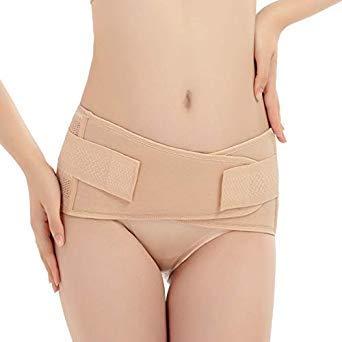 9e1cce9f07 Uniqus Women Waist Trainer Corset Belt Body Shapers Modeling Strap  Underwear Waist Slimming Belt Shapewear Belly Slimming Sheath Color Apricot  Size L  ...