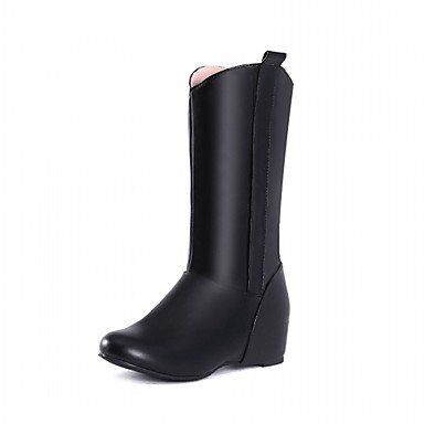 RTRY Women'S Boots Spring Fall Winter Comfort Novelty Patent Leather Leatherette Wedding Office &Amp; Career Dress Casual Party &Amp; Evening Low Heel US4-4.5 / EU34 / UK2-2.5 / CN33 w5kb2