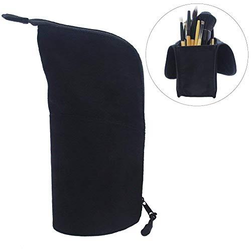 Makeup Brush Organizer, Makeup Bag Artist Brushes Set Case Professional Travel Brush Cosmetic Bag Pen Pencil Holder - With Cosmetic Holder Case Brush
