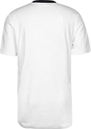 adidas Minoh T-Shirt Herren weiß / dunkelblau, XXL - 62