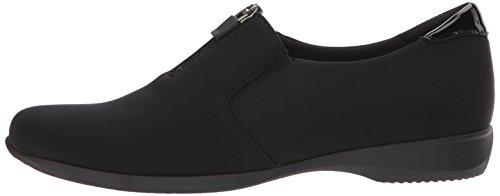 Black Trotters Women's Loafer Microfiber Jacey on Slip 1Pqw8Pz