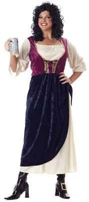 Plus Size Tavern Wench Costume Size: Women's Plus