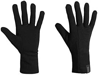 Color Negro Icebreaker Handschuhe Apex Glove Liners Talla S Guantes