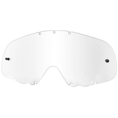 Oakley MX O Adult Replacement Lens MotoX/Off-Road/Dirt Bike Motorcycle Eyewear Accessories - Clear/One Size