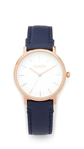 Nixon-Mens-Porter-35-Leather-Quartz-Stainless-Steel-Casual-Watch-ColorBlue-Model-A11992798