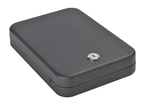 Sandusky Lee 3209-4 Portable Hand Gun Safe for Home, Business and Recreation, Black