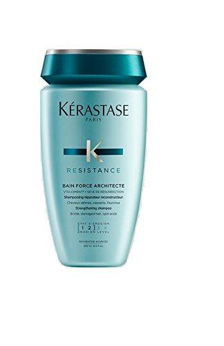 Kerastase Resistance Bain De Force Architecte Reconstructing Shampoo for Unisex, 8.5-Ounce E057430 KRS00021_-250ml