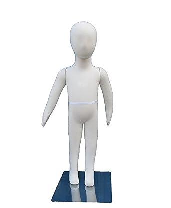 Amko FLC3 Flexible Niños maniquí 3 años de edad, altura de 33 cm ...