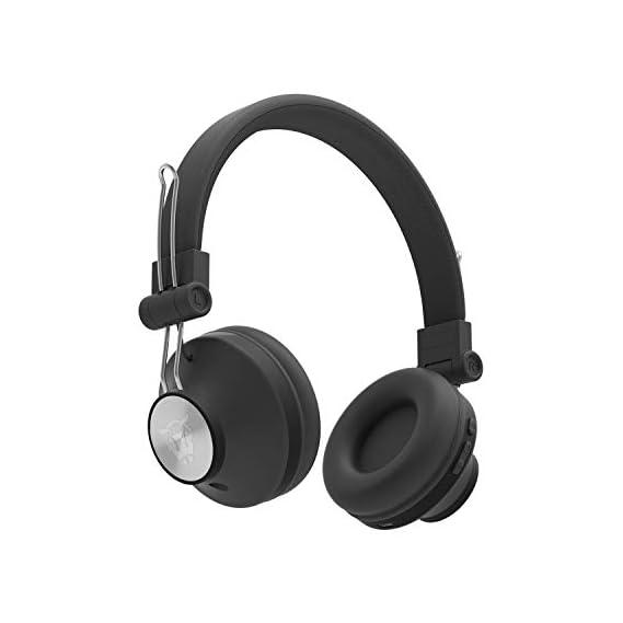 Ant Audio Treble H82 On Ear Bluetooth Headphone with Mic (Black)