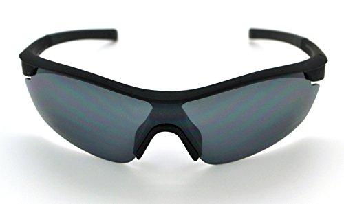 Vertx léger durable pour homme et pour femme Athletic Sport Wrap Lunettes de soleil Cyclisme Course à Pied W/étui microfibre gratuit - - jsVdDXwjt