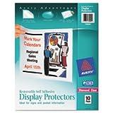 (3 Pack Value Bundle) AVE74404 Top-Load Display Sheet Protectors, Letter, 10/Pack