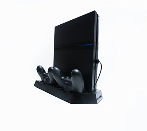 PS4 Vertical Stand and Dual Controller Charging Station with Cooling and USB Hub Playstation 4 Review
