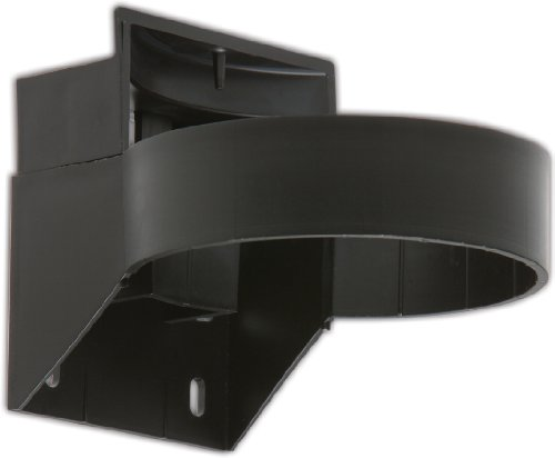 Best Sanitizers SS10005B Lockable Wall-Bracket, Black, for Best Refillable Wiping System