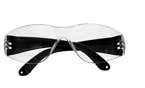 Anti-fog Wide Version Clear Safety Goggle Glasses Eyes Protection Lab Ski Outdoor Activities by - Piece One For Pads Glasses Nose
