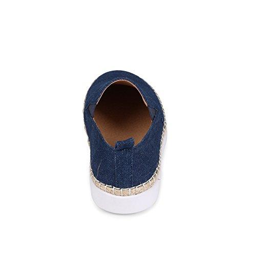 Ville Hybrid Fashion Slip-on Espadrille Platt Denim