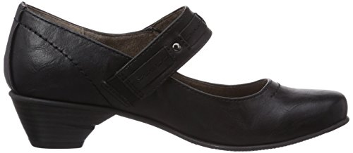 Softline 24361 Damen Slipper Schwarz (Black 1)