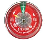 Amerex 06479 Pressure Gauge 100psi - Stainless Steel Tube