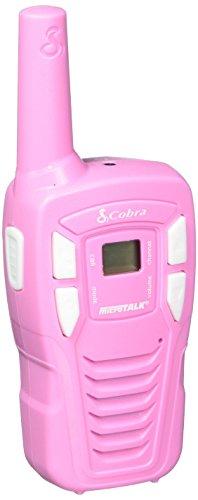 Cobra CX131A Kids' Walkie Talkies Two-Way Radios Toy for Kids, Pink (Pair)