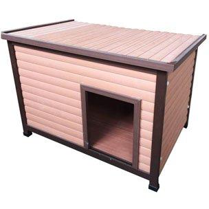 【ベルギーFLAMINGOPET】 の犬小屋 ベルギーFLAMINGOPET 木質プラスチックコンポジットでできたドッグハウス ドッグハウスフレックス B076QNJNGN
