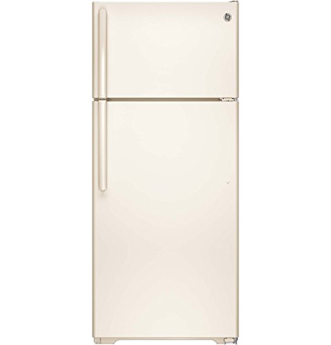 Refrigerator Bisque Side Side By (GE GTE18GTHCC 17.5 Cu. Ft. Bisque Top Freezer Refrigerator - Energy Star)