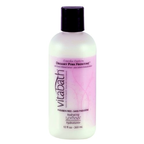 (Vitabath Hydrating Lotion, Dreamy Pink Frosting 12 fl oz Pack of 4)