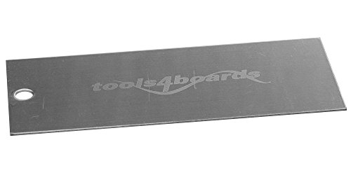 Tools4Boards STAINLESS Steel Scraper for Skis and Snowboards by Tools4Boards