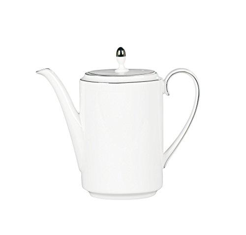 Vera Wang by Wedgwood Blanc Sur Blanc 1.6-Pint Coffeepot