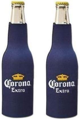 Corona Extra Beer Bottle Suit Holder Cooler Kaddy Huggie Coolie Set of 2