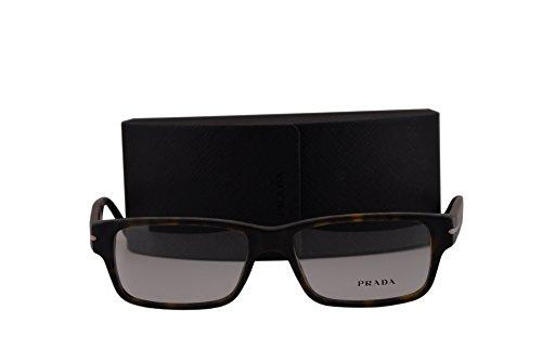 Prada PR22RV Eyeglasses 52-16-140 Matte Havana HAQ1O1 VPR22R (FRAME+CASE - Edition Limited Prada Sunglasses