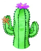 Winning Edge Designs Flower Power Cactus with Flower and Scorpion Head Cover, Outdoor Stuffs