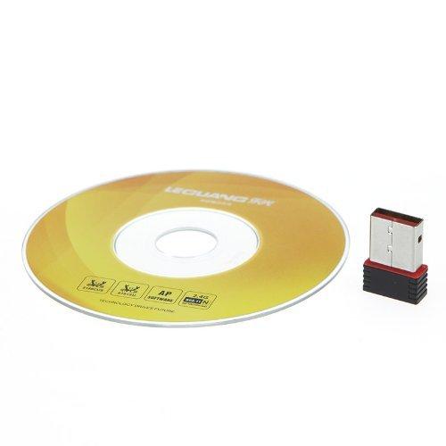 3 opinioni per SODIAL (R) Mini USB adattatore WiFi Scheda di rete Wireless 802.11n 150M