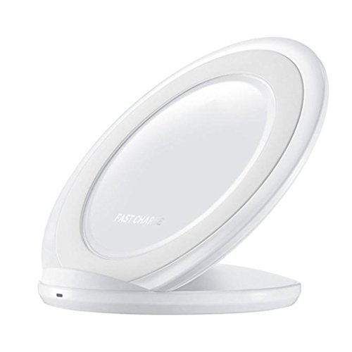 Price comparison product image Wireless Charging Stand,  Learnin Fast Charge Qi Wireless Charging Stand Dock for Samsung Galaxy S7 / S7 Edge Note 5 (white)