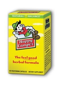 Natural Balance Happy Camper, 60-Count - Happy Camper Herbal