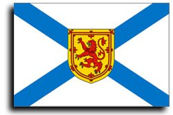 (New 3x5 Canadian Province of Nova Scotia Flag Flags)