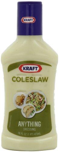 Kraft Coleslaw Dressing (16 oz Bottles, Pack of 6)